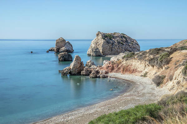 Wall Art - Photograph - Aphrodite's Rock - Cyprus by Joana Kruse