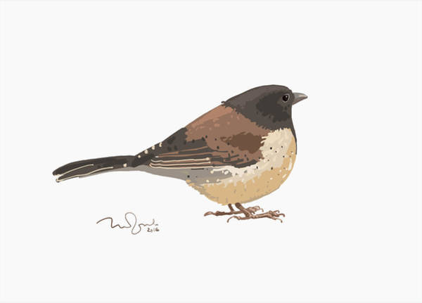 Bird Art Print by Penko Gelev