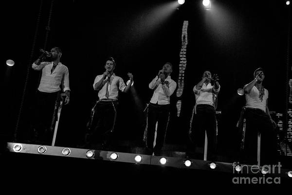 Photograph - Boyzone by Jenny Potter