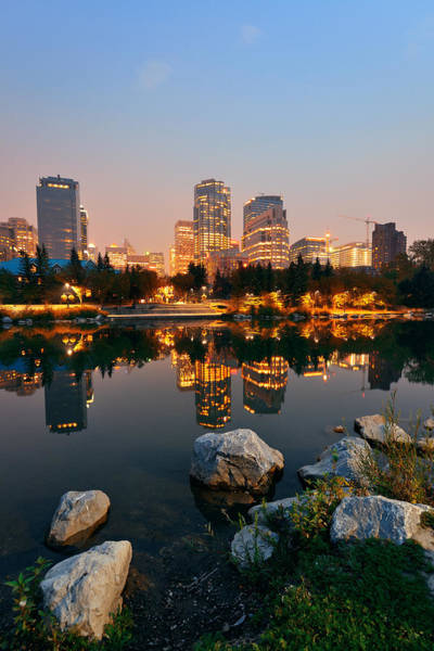 Photograph - Calgary by Songquan Deng