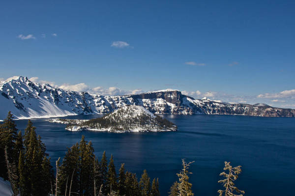 Photograph - Crater Lake Oregon by Steven Lapkin