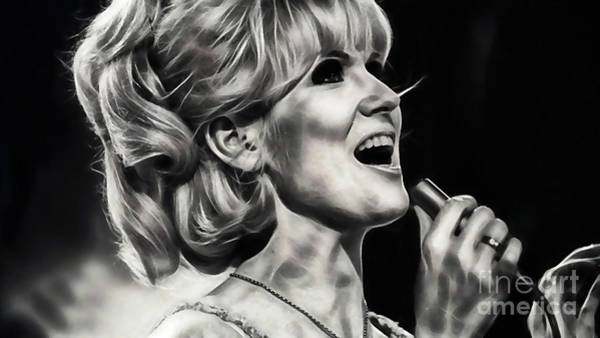 Wall Art - Mixed Media - Dusty Springfield Collection by Marvin Blaine