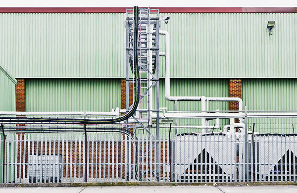 Manufacturers Photograph - Factory by Tom Gowanlock