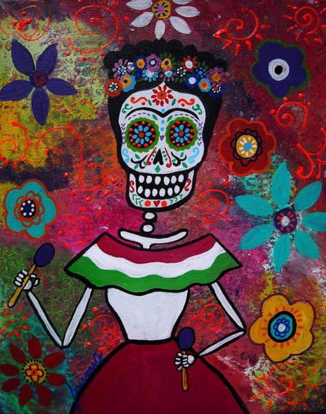 Painting - Frida Kahlo by Pristine Cartera Turkus