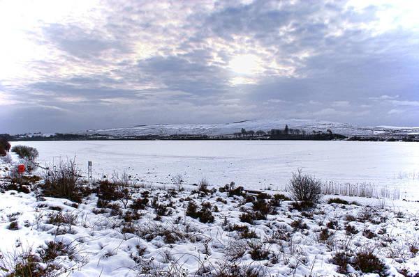 Photograph - Frozen Lough Fea by Colin Clarke