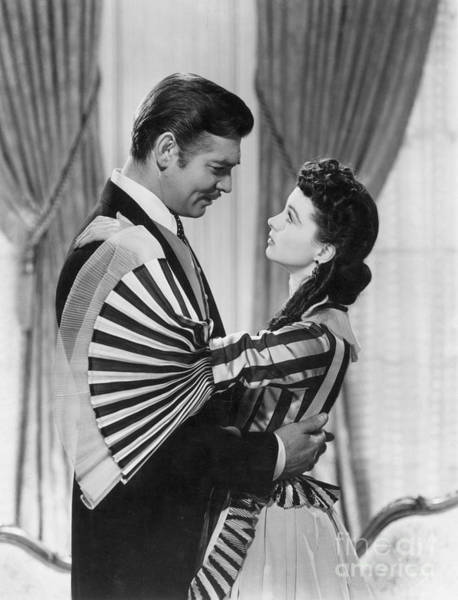 Wall Art - Photograph - Gone With The Wind, 1939 by Granger