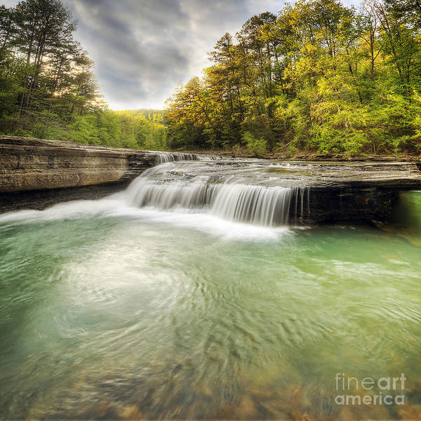 Wall Art - Photograph - Haw Creek Falls by Twenty Two North Photography