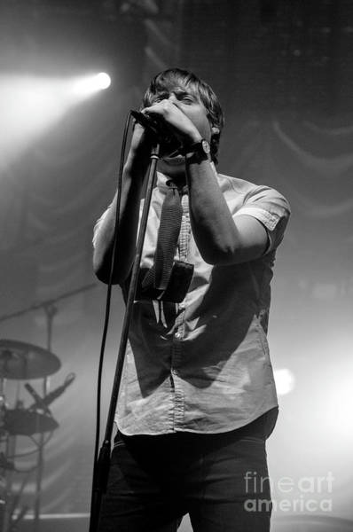 Photograph - Kaiser Chiefs by Jenny Potter