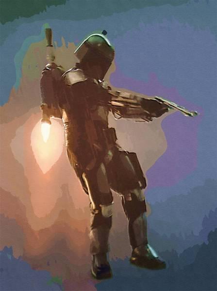 Star Wars Episode 3 Wall Art - Digital Art - New Star Wars Poster by Larry Jones