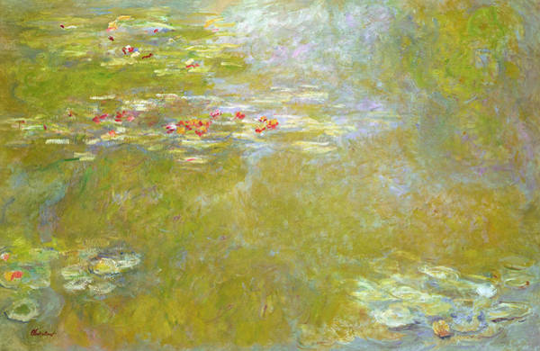 Wall Art - Painting - Nympheas by Claude Monet