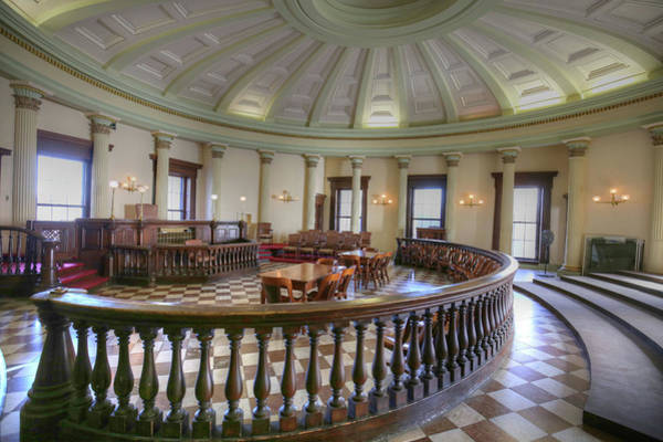 Dred Photograph - Old Courthouse by Michael Munster