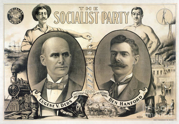 Wall Art - Photograph - Presidential Campaign, 1904 by Granger