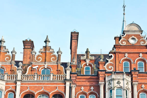 Wall Art - Photograph - Red Brick Building  by Tom Gowanlock