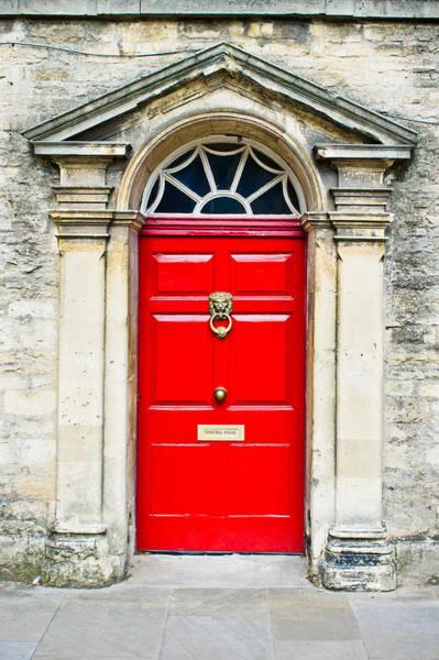 Pattern Wall Art - Photograph - Red Door by Tom Gowanlock
