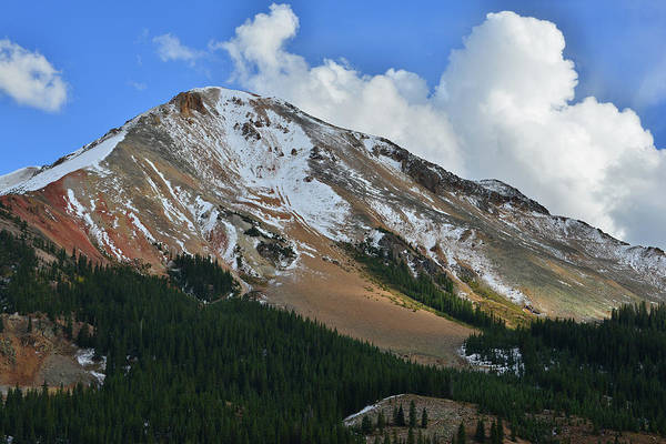 Photograph - Red Mountain Pass by Ray Mathis