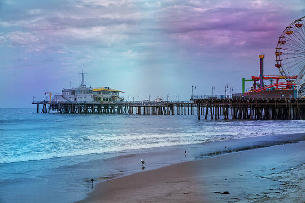Photograph - Santa Monica Pier Collection- 6/36 by Gene Parks