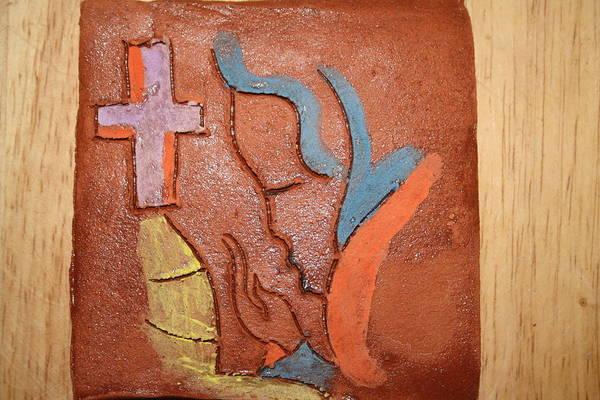 Ceramic Art - Sign - Tile by Gloria Ssali