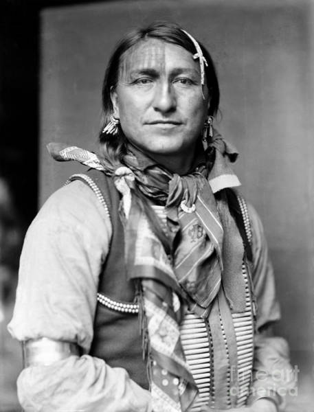 Wall Art - Photograph - Sioux Native American, C1900 by Granger