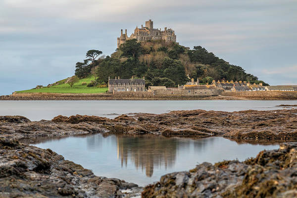 St Michaels Church Photograph - St Michael's Mount - Cornwall by Joana Kruse