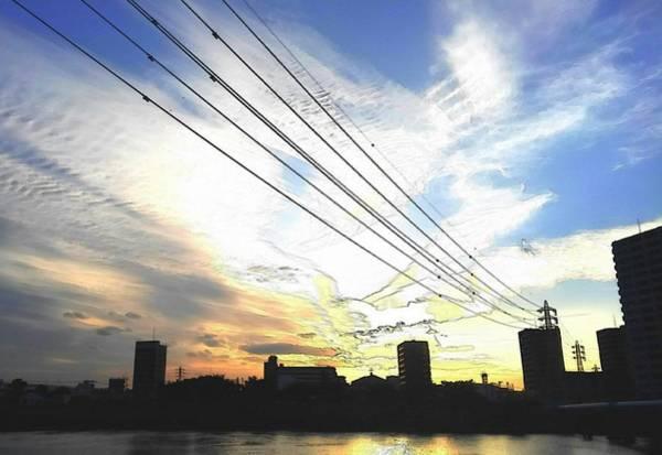 Digital Art - Sunset by Kumiko Izumi