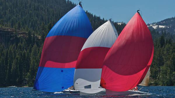 Photograph - Tahoe Chutes by Steven Lapkin