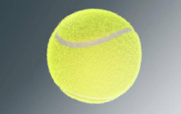 Wall Art - Digital Art - Tennis Ball by Allan Swart