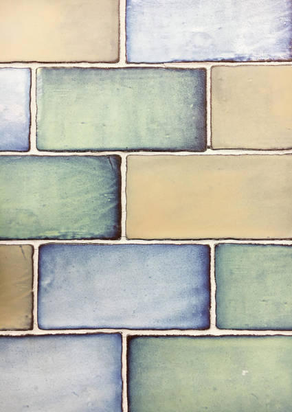 Wall Art - Photograph - Tiles Background by Tom Gowanlock