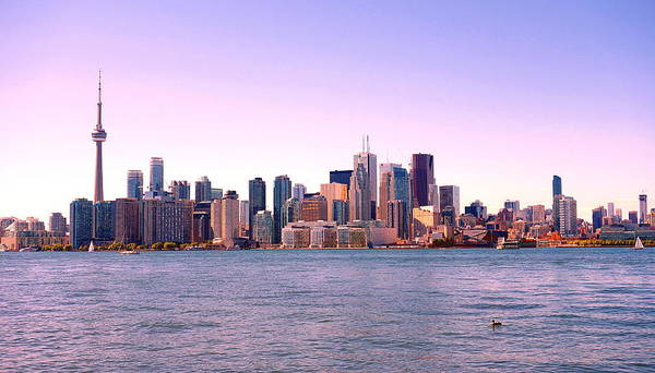Wall Art - Photograph - Toronto Skyline by Valentino Visentini