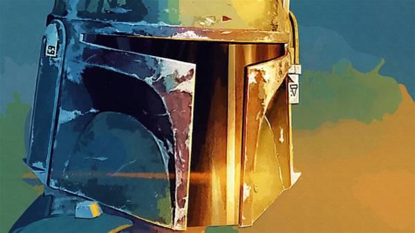 R2-d2 Digital Art - Wars Star Art by Larry Jones