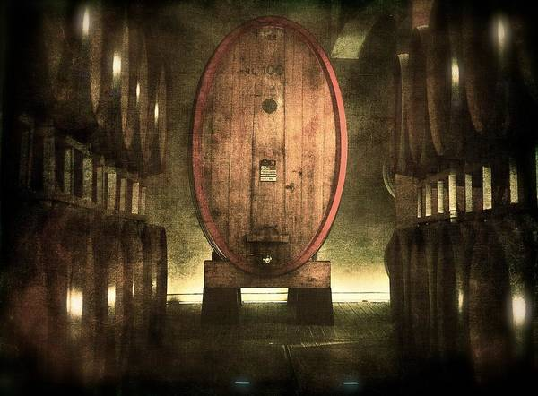 Photograph - 100 Hl - Italian Red Wine by Vittorio Chiampan