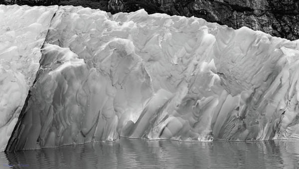Photograph - 100 Shades Of Grey - Dawes Iceberg by Rich Ackerman