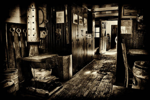 Wall Art - Photograph - 100 Year Old Railroad Caboose by Paul W Faust - Impressions of Light