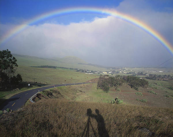 Photograph - 100860 Rainbow In Hawaii by Ed Cooper Photography