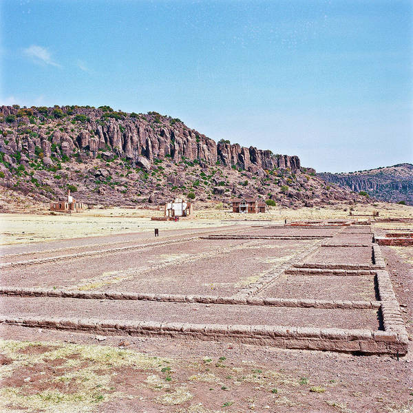 Photograph - 1009.001 Fort Davis Texas In Color by M K Miller