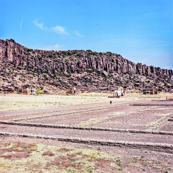Photograph - 1009.002 Fort Davis Texas In Color by M K Miller