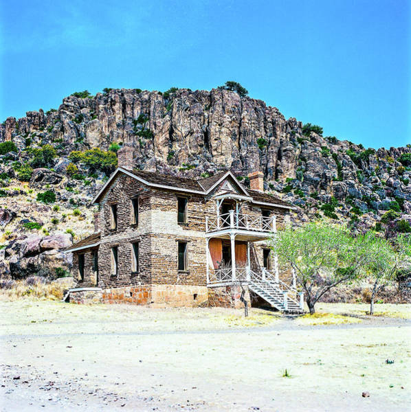 Photograph - 1009.004 Fort Davis Texas In Color by M K Miller