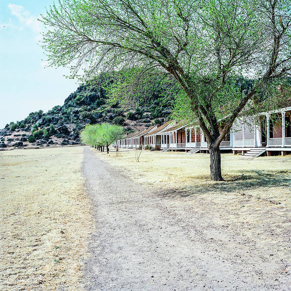 Photograph - 1009.008 Fort Davis Texas In Color by M K Miller