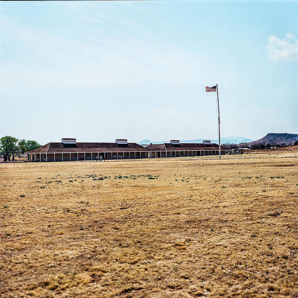 Photograph - 1009.012 Fort Davis Texas In Color by M K Miller