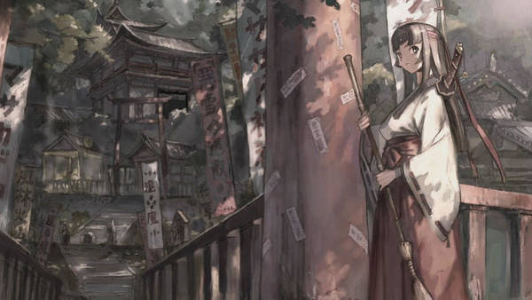 101 Digital Art - 10101 1 Other Anime Shinto by Mery Moon