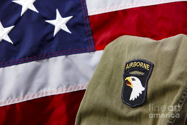 101st Airborne Division Screaming Eagles Patch On Vietnam