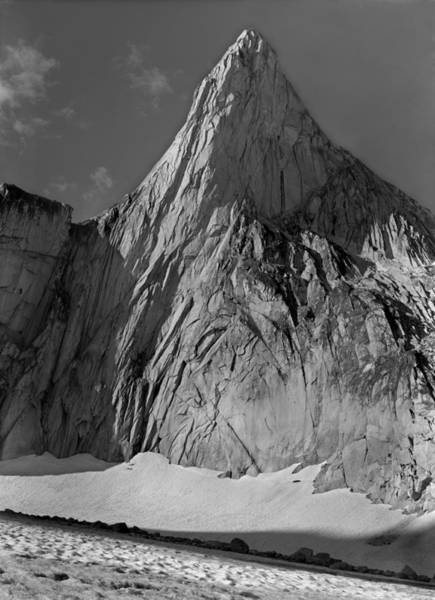 Photograph - 102771bw Snowpatch Spire by Ed  Cooper Photography