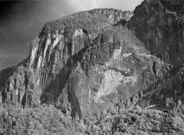 Photograph - 102992 Northern Flank Stawamus Chief 2 by Ed Cooper Photography
