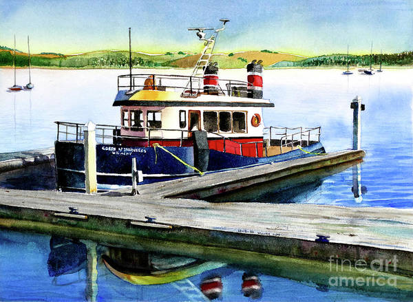 Sausalito Painting - #103 Grizzly by William Lum