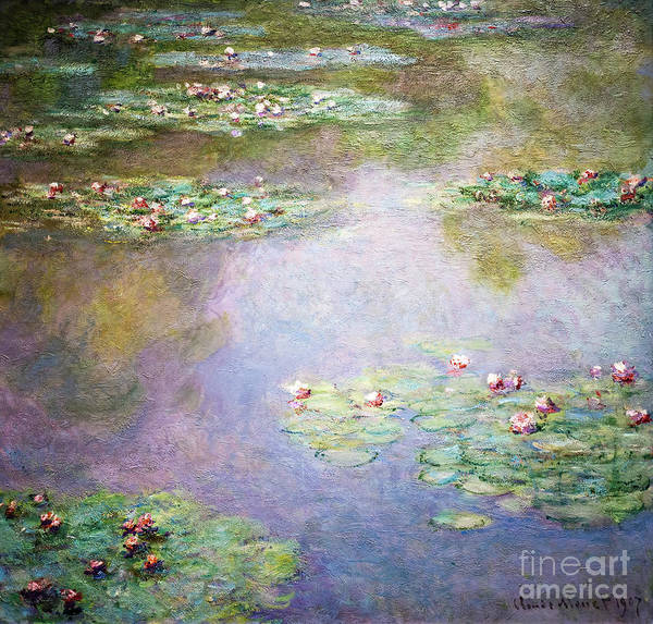 Painting - Water Lilies By Monet by Claude Monet
