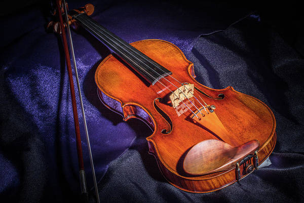 Photograph - 105 .1841 Violin By Jean Baptiste Vuillaume by M K Miller