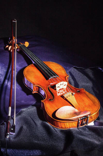 Photograph - 106 .1841 Violin By Jean Baptiste Vuillaume by M K Miller