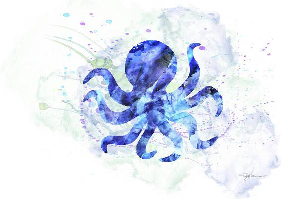 Wall Art - Digital Art - 10958 Octopus by Pamela Williams