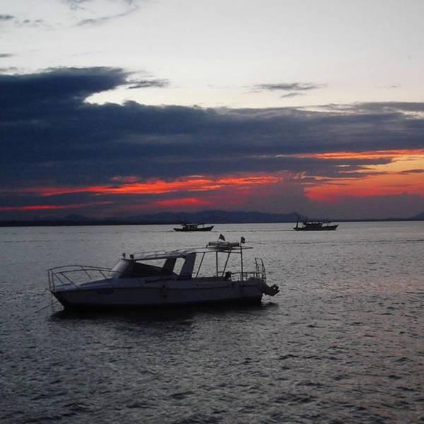 #10yearsoftravel Another Amazing Sunset Art Print by Dante Harker