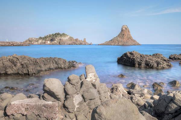 Isola Wall Art - Photograph - Aci Trezza - Sicily by Joana Kruse