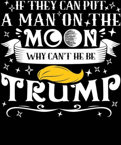 Midterm Wall Art - Digital Art - Anti Trump Impeach The President Vote For Dems Dark by Nikita Goel